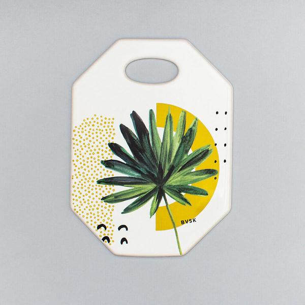 Deska ceramiczna Mustard Palm BVSK Boguslavskaya