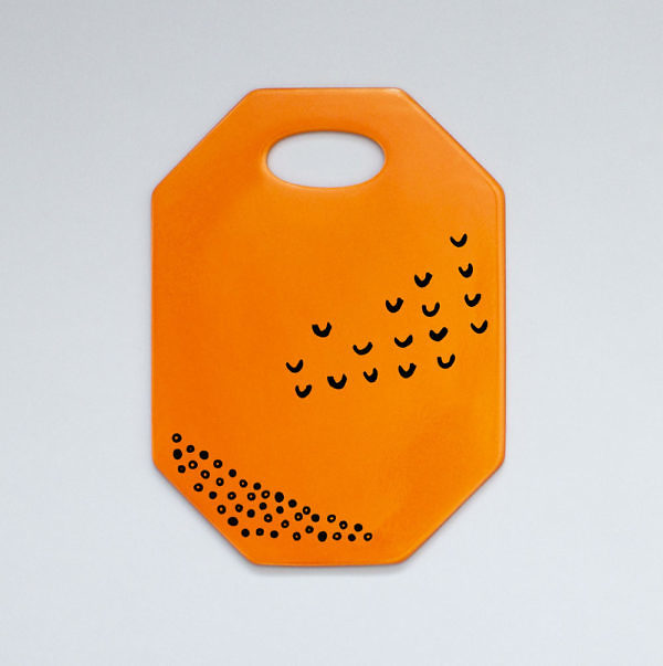 Deska ceramiczna Orange BVSK Boguslavskaya